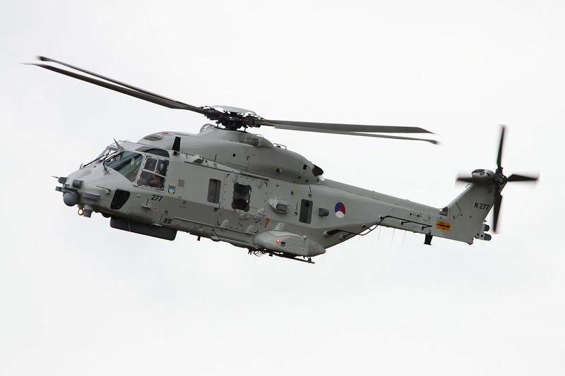 "N-277 NH Industries NH-90 NFH ""Royal Netherlands Air Force"" c/n 1277 Gilze-Rijen/EHGR 20-06-14"