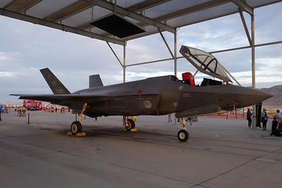 "F-001 Lockheed Martin F-35A Lightning II ""Royal Netherlands Air Force"" c/n AN-1 Nellis/KLSV/LSV 12-11-16"
