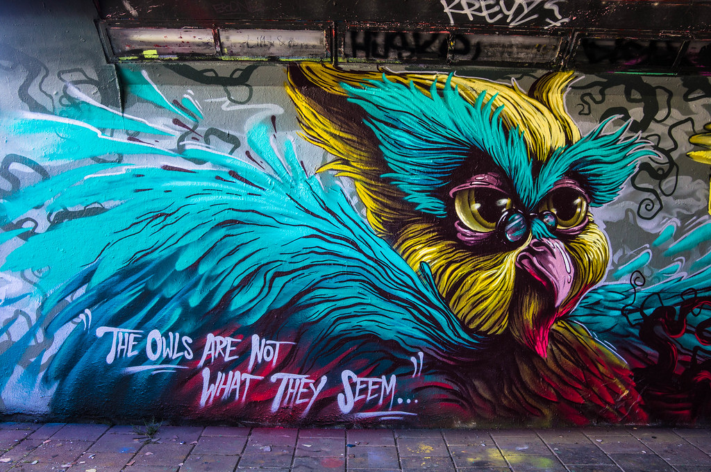 Mural by Zero, FatHeat, Transone & Böki at Step in the Arena 2015 in Eindhoven, Netherlands