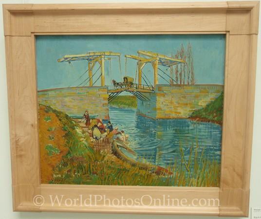 Kroller-Mullen Museum - Vincent Van Gogh - Bridge at Arles