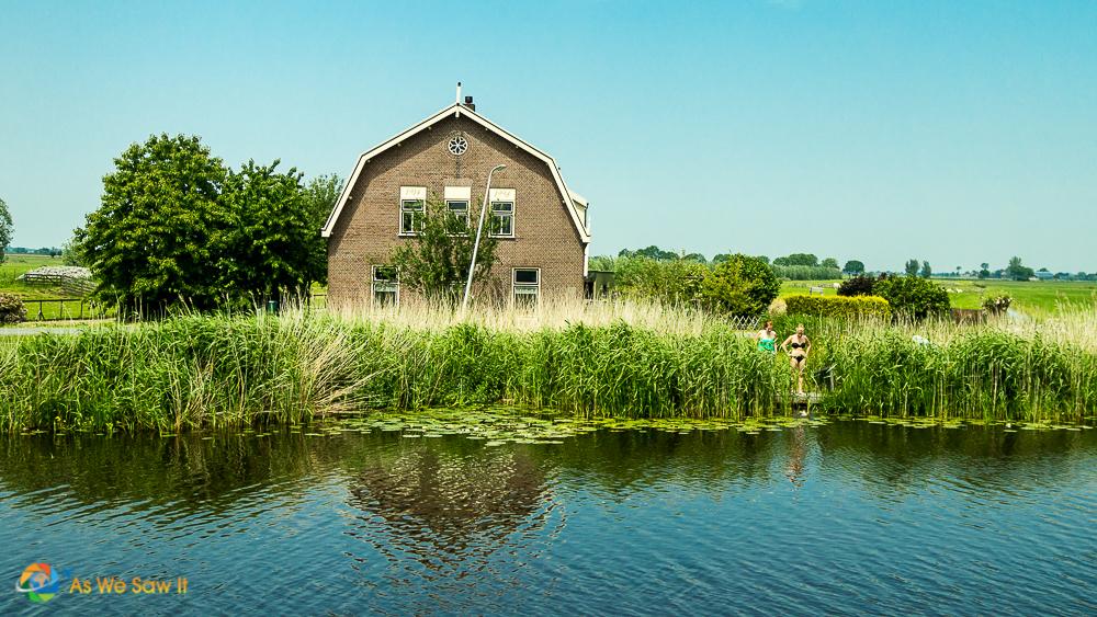 Flat lands of The Netherlands.