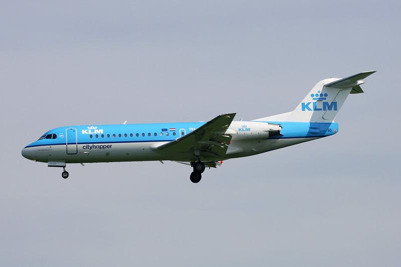 PH-KZS Fokker F-70 c/n 11540 Brussels/EBBR/BRU 25-05-13