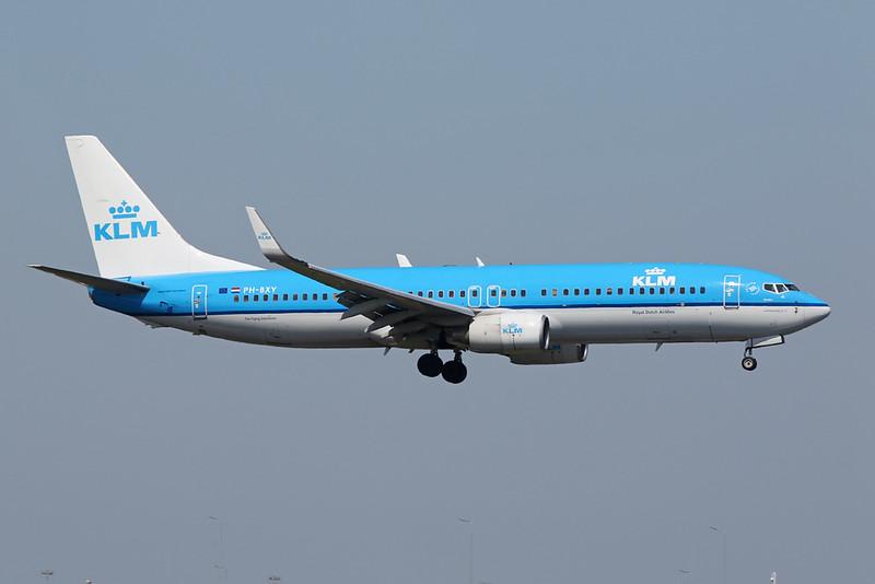 PH-BXY Boeing 737-8K2 c/n 30372 Amsterdam/EHAM/AMS 21-05-18
