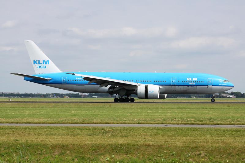 "PH-BQK Boeing 777-206ER c/n 29399 Amsterdam/EHAM/AMS 21-06-14 ""Asia"""
