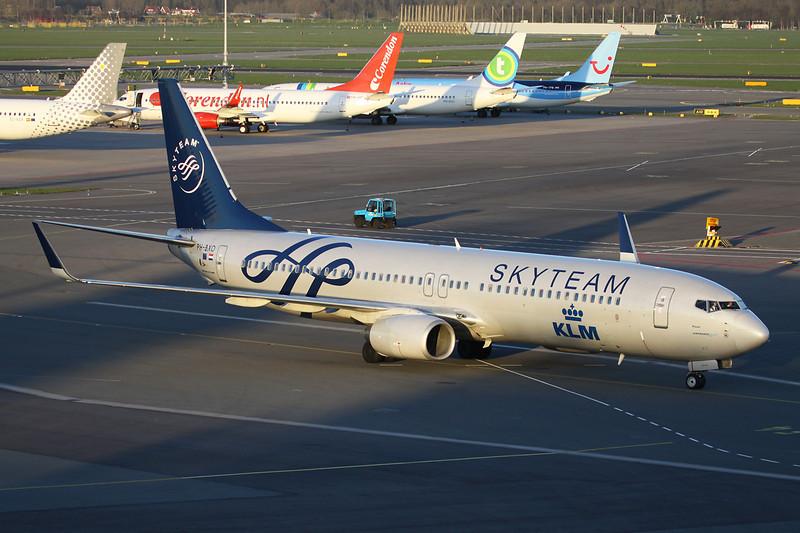 "PH-BXO Boeing 737-9K2 c/n 29599 Amsterdam/EHAM/AMS 24-03-14 ""Skyteam"""