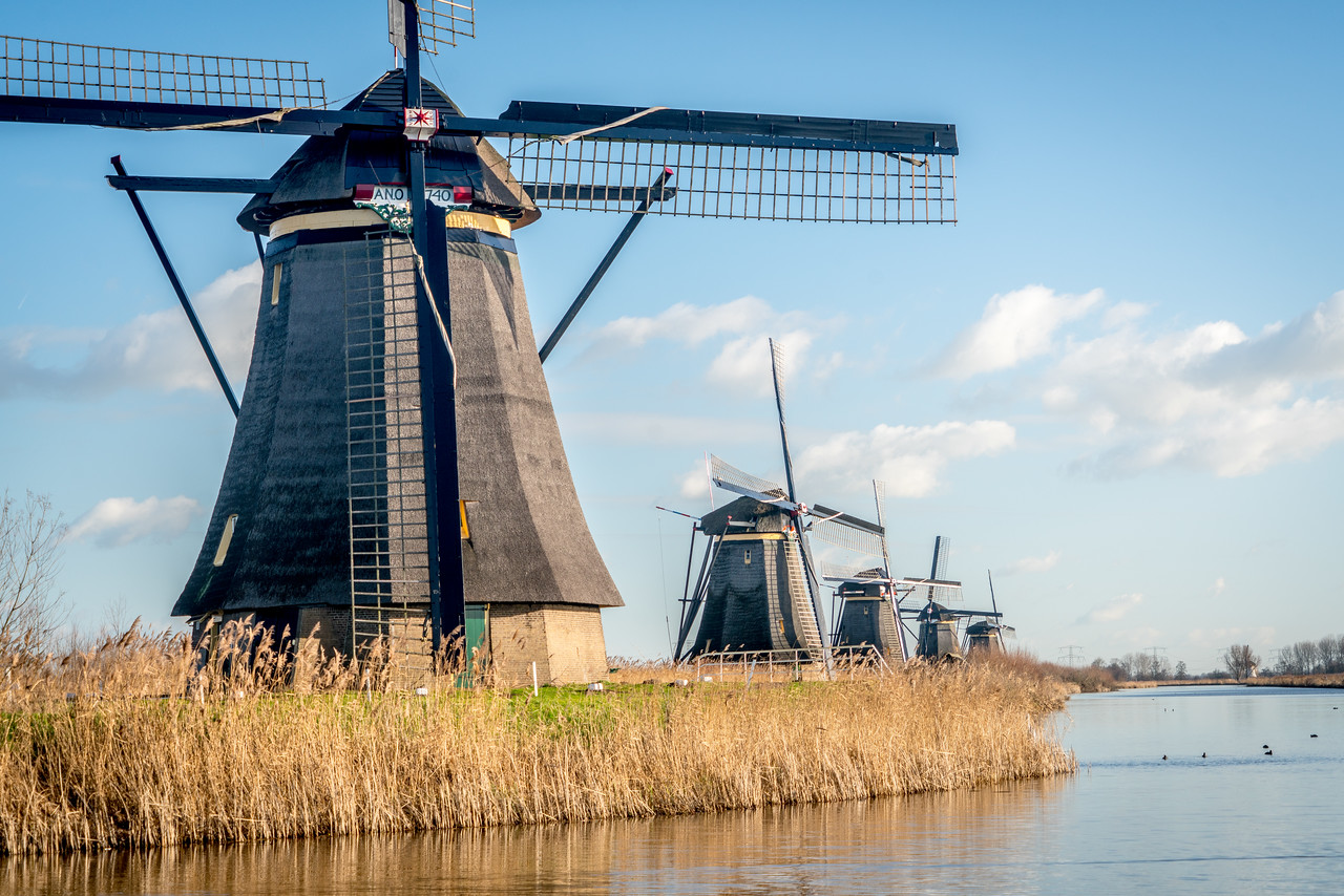 Mill Network at Kinderdijk