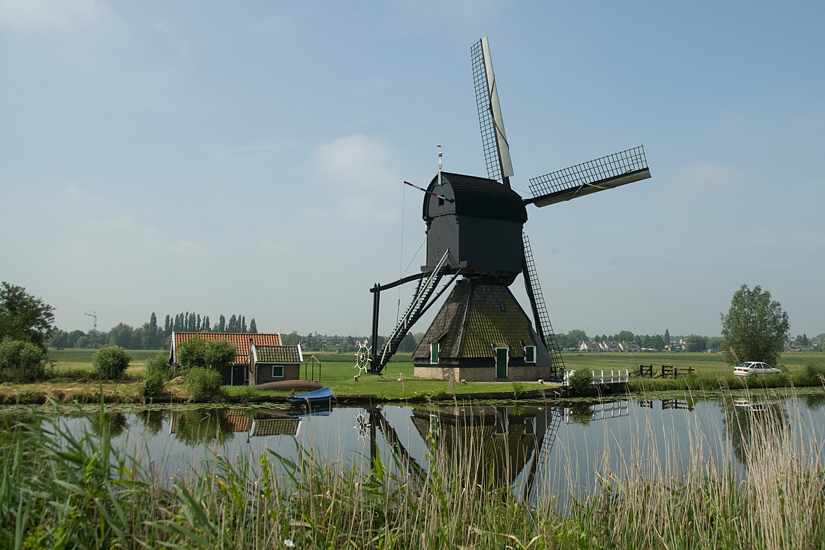 Windmill at Kinderdijk, Netherlands