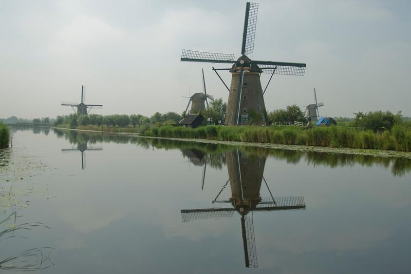 Some of the 19 windmills at Kinderdijk, Netherlands
