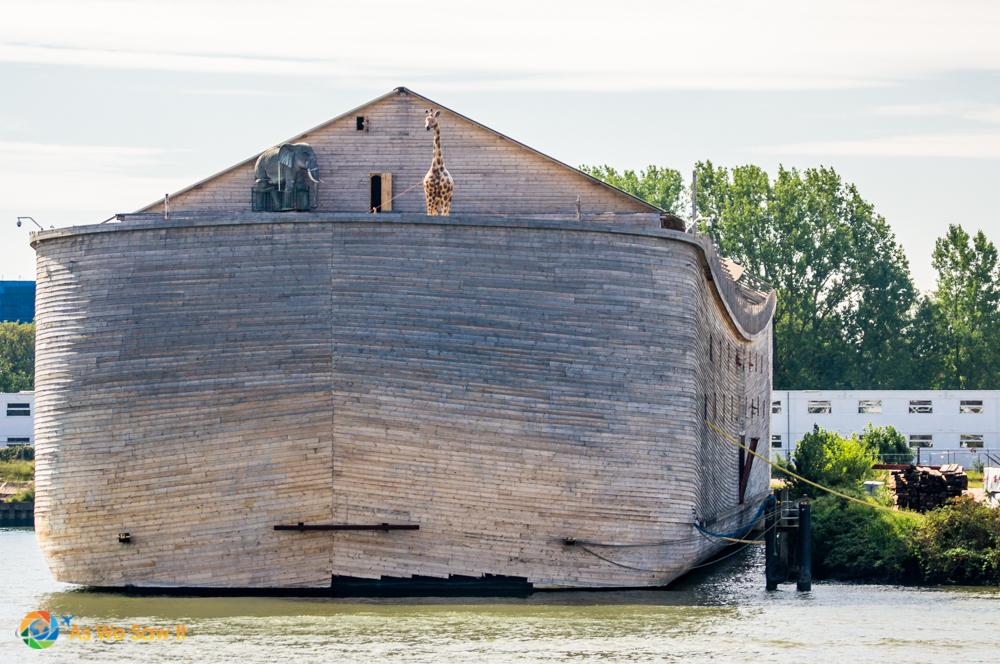 Model of Noah's ark.