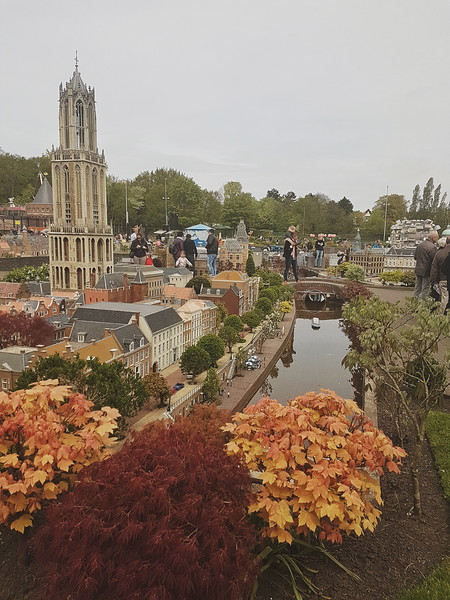 Utrecht's Dom tower in Madurodam in Den Haag, the Netherlands