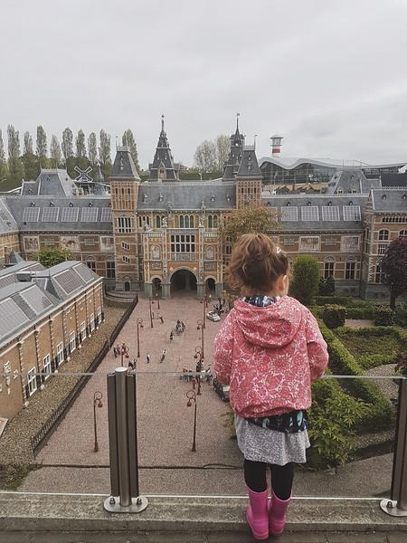 The Rijksmuseum in Madurodam in Den Haag, the Netherlands