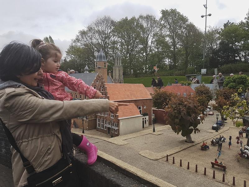 Visiting Madurodam in Den Haag, the Netherlands