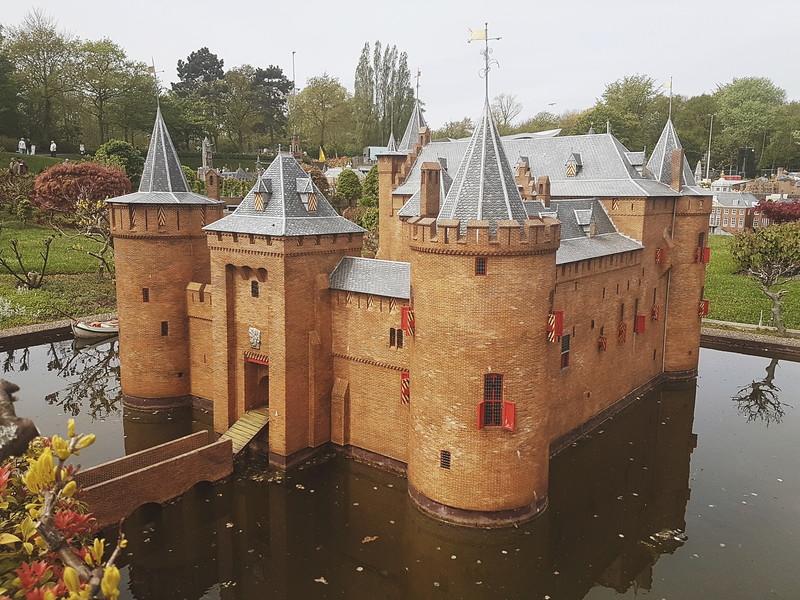 Muiden Castle in Madurodam in Den Haag, the Netherlands