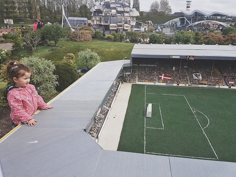 Johan Cruijff Arena in Madurodam in Den Haag, the Netherlands
