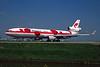 "PH-MCU McDonnell-Douglas MD-11F ""Martinair"" c/n 48757 Amsterdam/EHAM/AMS 22-04-05 ""Poppies"" (35mm slide)"