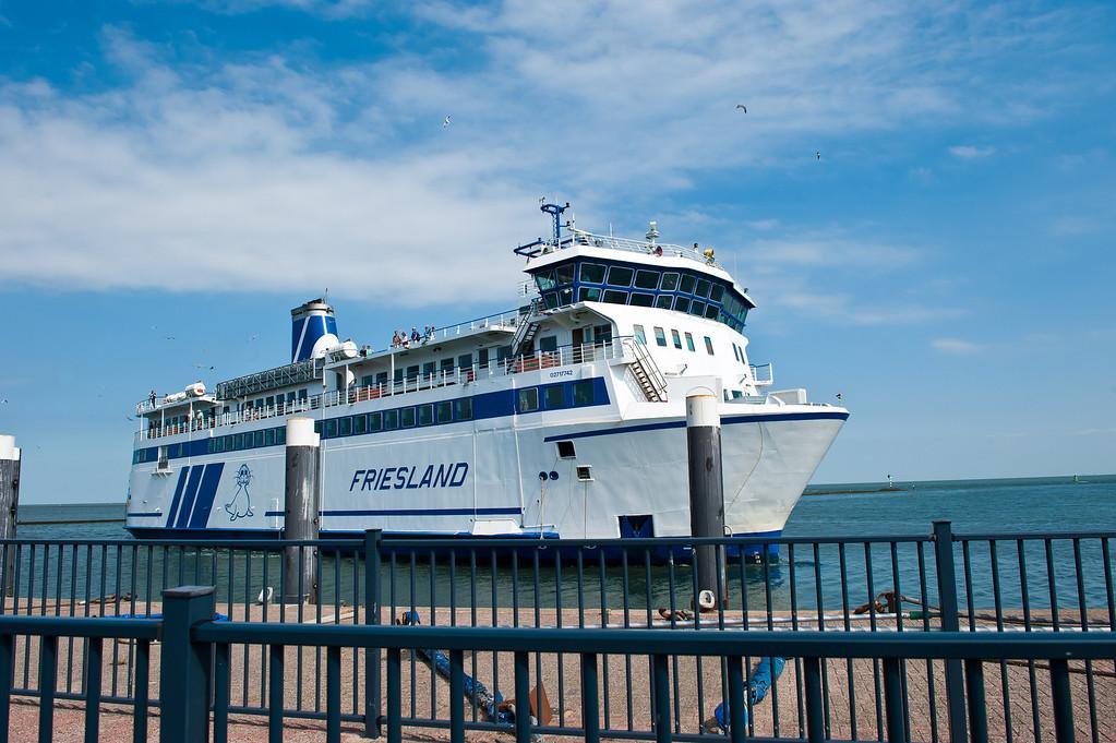Ferry back to Harlingen