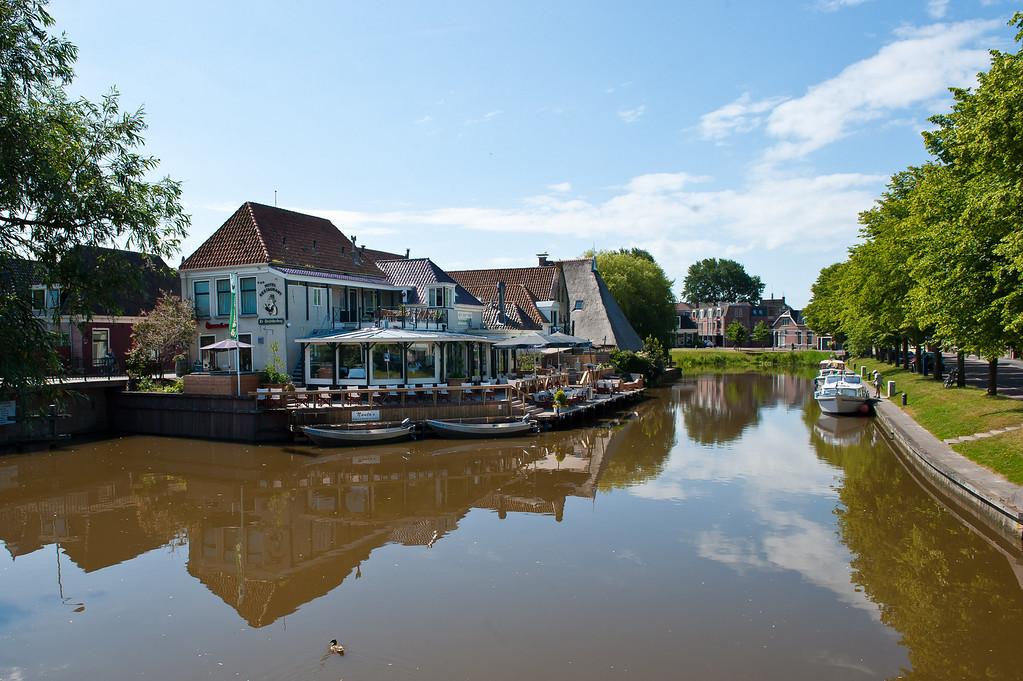 Franeker Canal Side Restaurant - De Stadsherberg