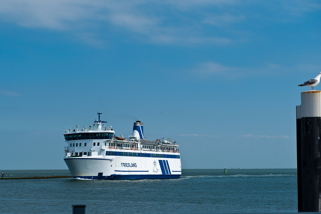 Ferry to the Friesland Islands