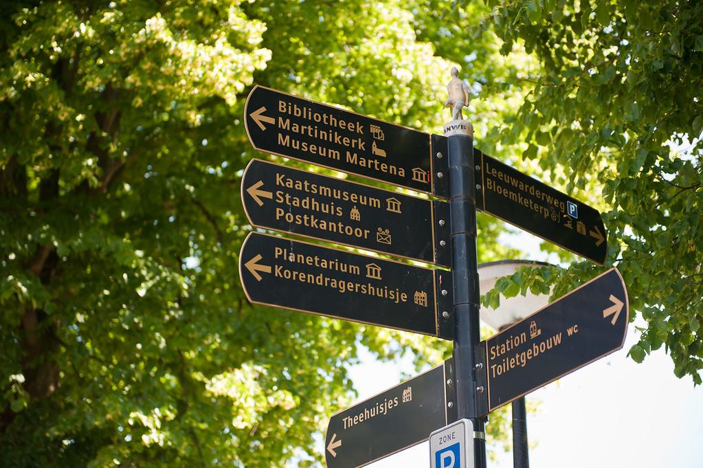Franeker Street Signs