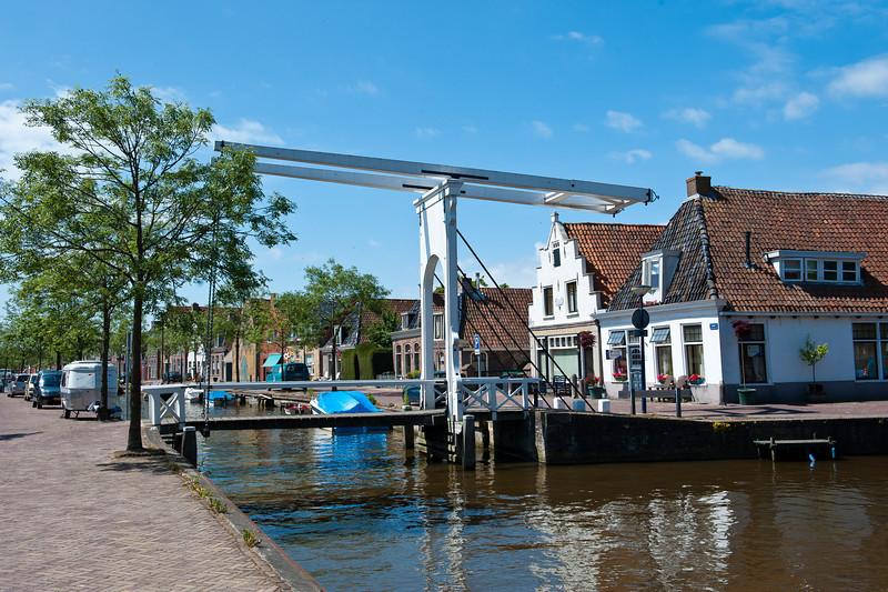 Canal Bridge - Franeker