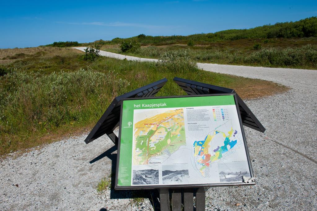 Bike Trail Crossroad