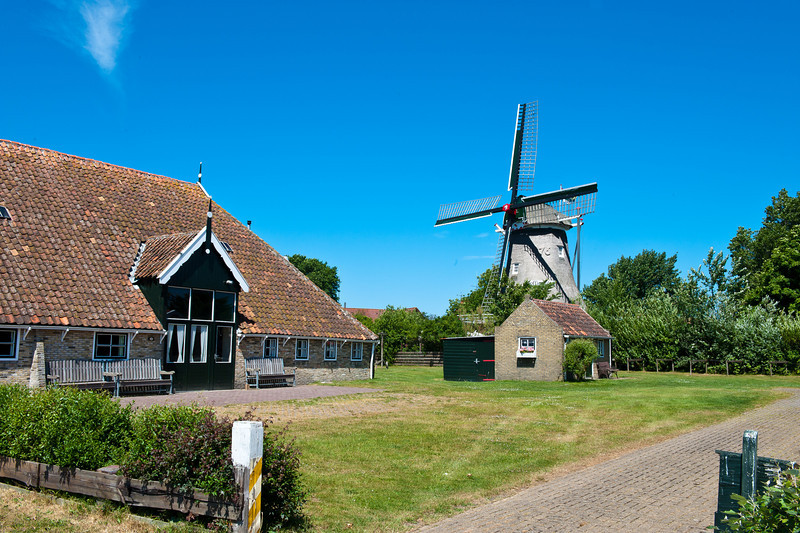 Terschelling - Windmill and Home