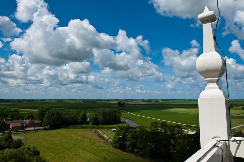 View from Bell Tower - Johanneskerk Church - Tzum