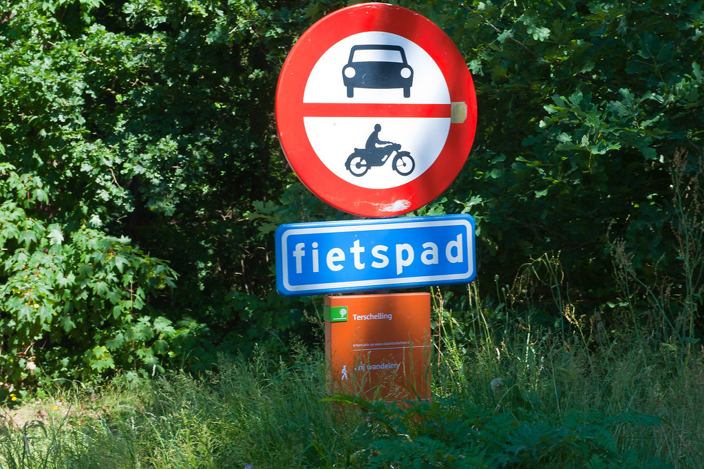 Fietspad - Bike Route
