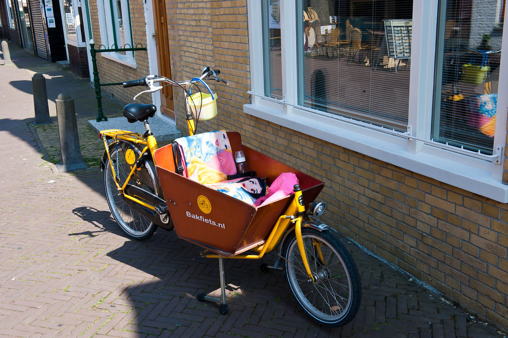 Basket Bike for a Baby