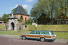 Schoonhoven - Dike Gate with vintage stationwagon