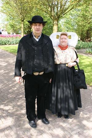 Keukenhof Gardens - Traditional Clothing 2