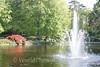Keukenhof Gardens - Fountain 1
