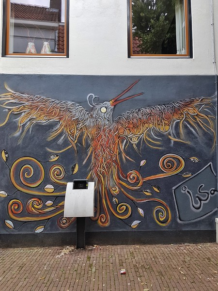 Street Art in Breda, the Netherlands
