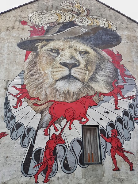 Mural by Zenk One in Breda, the Netherlands