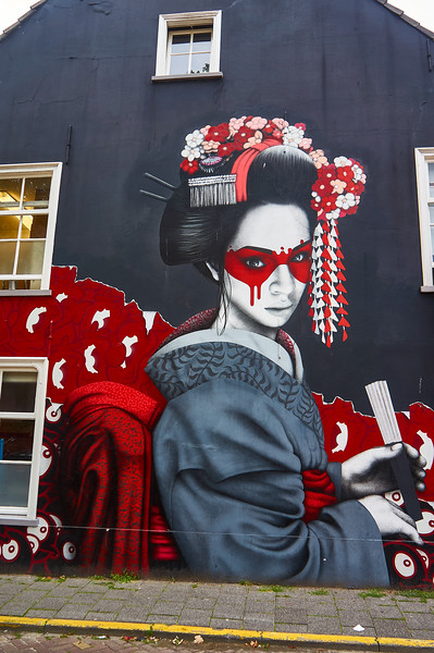 Mural by Fin DAC in Breda, the Netherlands.