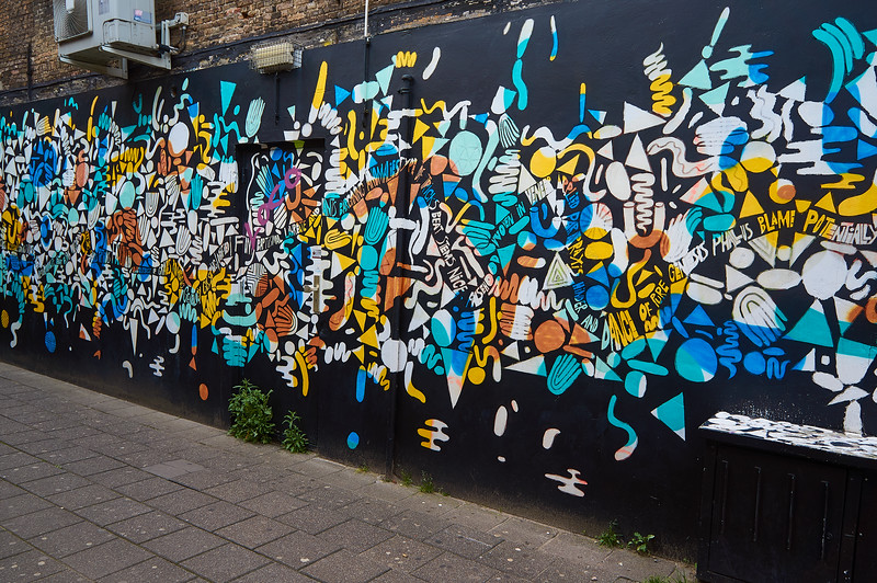 Stree art in Breda, the Netherlands.
