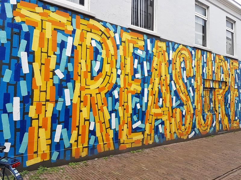 Mural by Thomas&Jurgen in Breda, the Netherlands