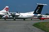 """PH-TTA de Havilland Canada DHC-8-102A """"Trans Travel Air"""" c/n 237 Fairford/EGVA/FFD 19-07-97 (35mm slide)"""