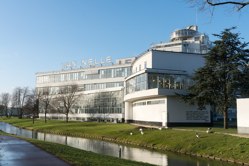 The Van Nelle Factory UNESCO World Heritage Site in Rotterdam