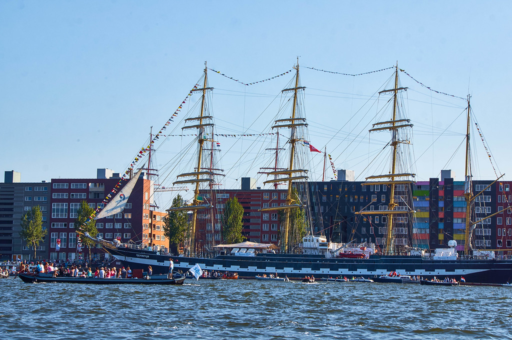 Tall boat in SAIL Amsterdam 2015