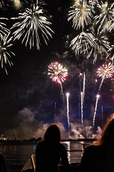Fireworks at SAIL Amsterdam 2015