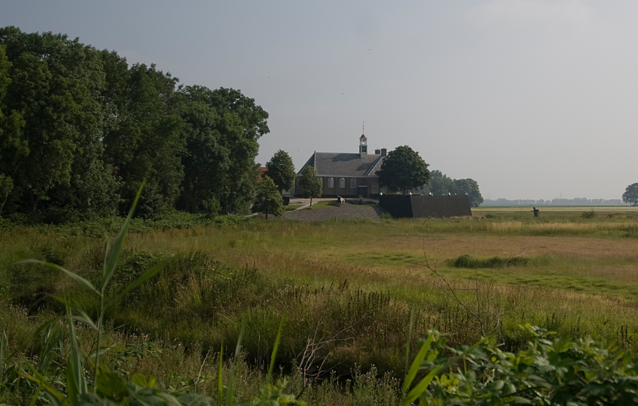 The Church of Schokland in Netherlands