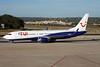 "YR-BMD Boeing 737-85F ""Blue Air"" c/n 28826 Palma/LEPA/PMI 16-06-16 ""TUI Airlines Netherlands"""
