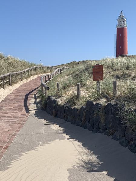 texel island hiking sand dunes