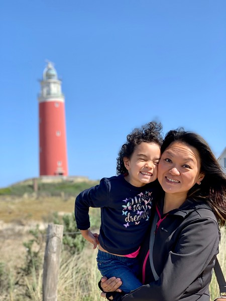 text island lighthouse - coolest day trip from amsterdam