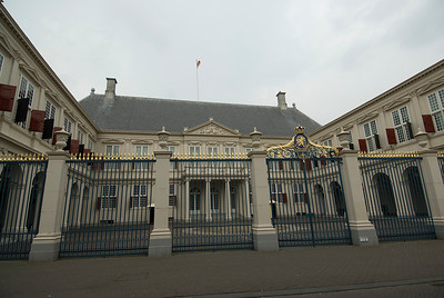 Noordeinde Palace in The Hague, Netherlands