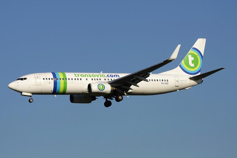 PH-HZF Boeing 737-8K2 c/n 28378 Brussels/EBBR/BRU 07-07-13