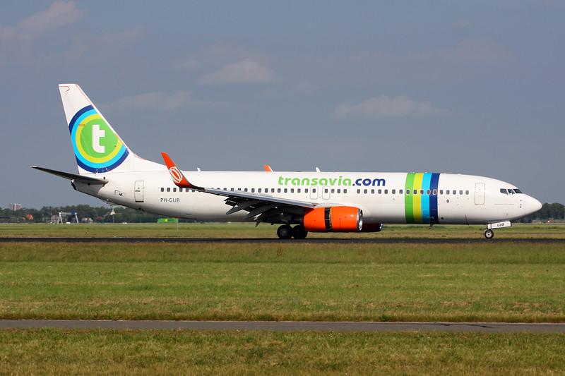 "PH-GUB Boeing 737-8EH c/n 35832 Amsterdam/EHAM/AMS 21-06-14 ""GOL winglets & engines"""