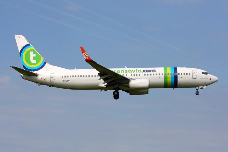 "PH-GUA Boeing  737-8EH c/n 37601 Amsterdam/EHAM/AMS 21-06-14 ""GOL winglets"""
