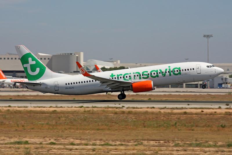 "PH-GUU Boeing 737-8EH ""Tranavia"" c/n 39607 Palma/LEPA/PMI 13-06-16"